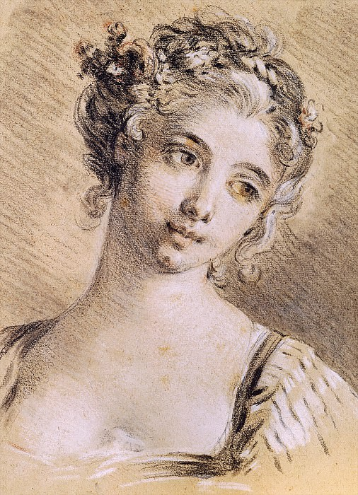 Head of a Young Girl2. Francois Boucher