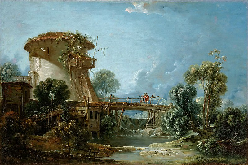 The Dovecote. Francois Boucher