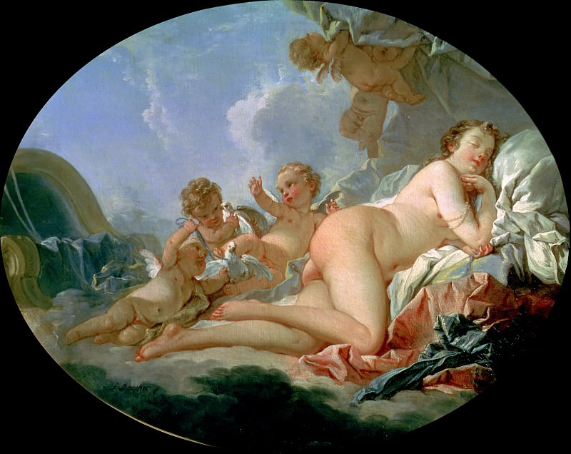 The Sleeping Venus. Francois Boucher