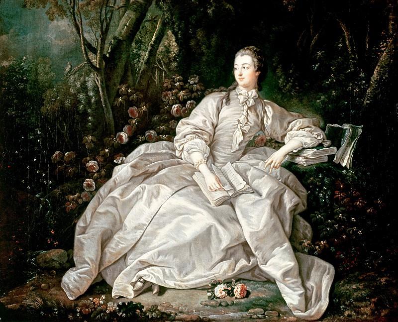 Madame de Pompadour (1721-64). Francois Boucher