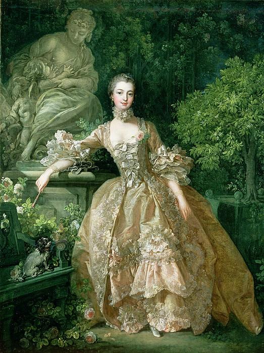 Portrait of Marquise de Pompadour. Francois Boucher