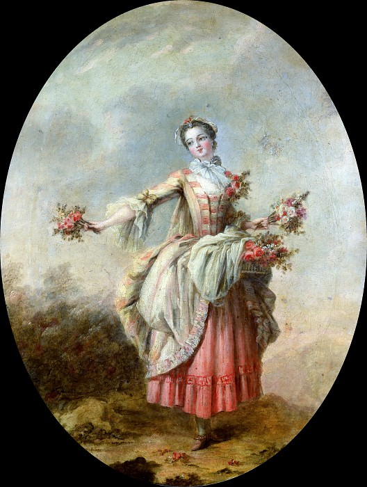 La bouquetiere. Francois Boucher