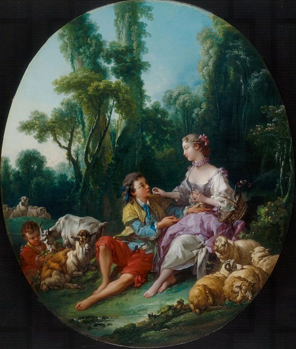 Are They Thinking about the Grape ?. Francois Boucher