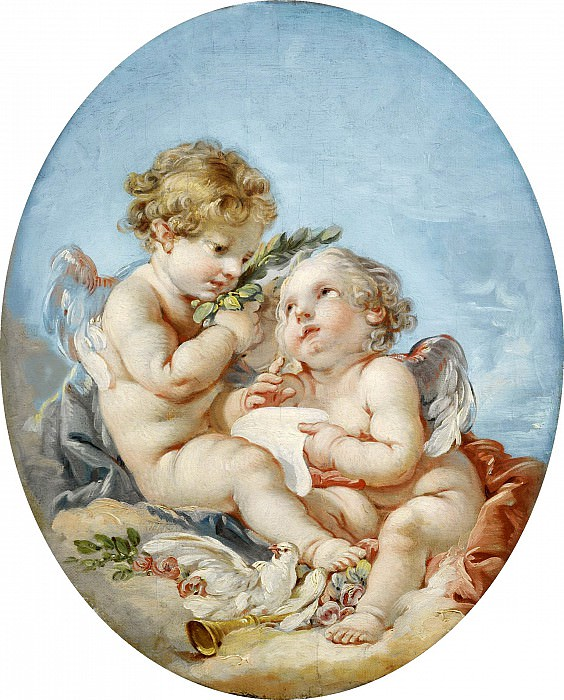Poetry. Francois Boucher