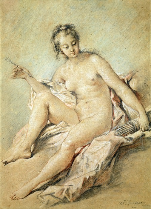 A study of Venus. Francois Boucher