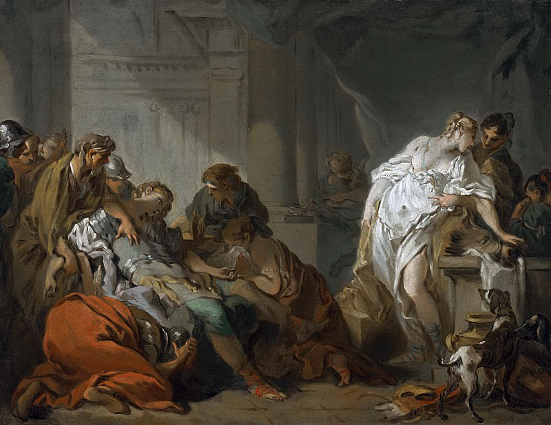 Death of Meleager. Francois Boucher