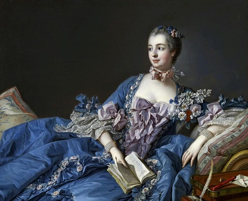 Madame de Pompadour. Francois Boucher