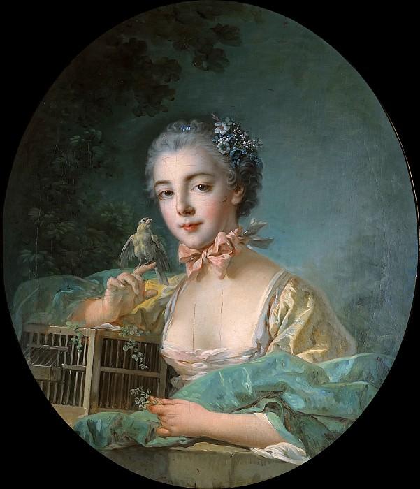 Портрет Мари-Эмили Бодуэн, дочери xудожника. Франсуа Буше