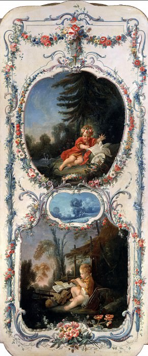 Poetry and Music. Francois Boucher