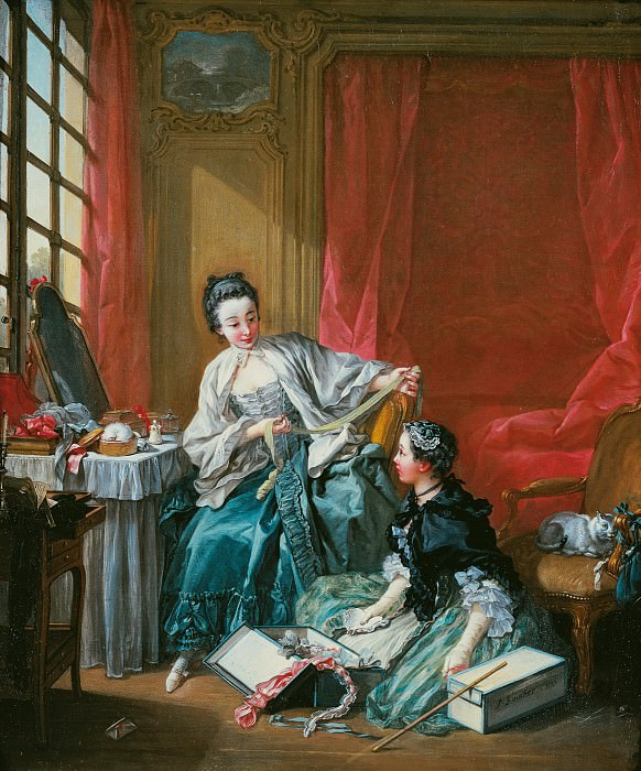 The Modiste. Francois Boucher
