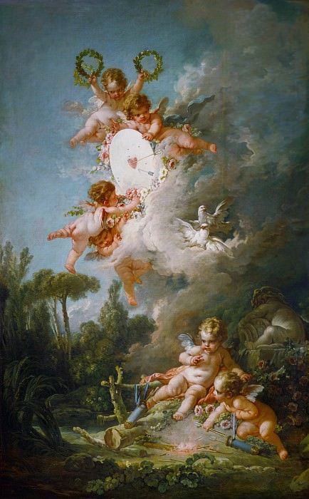 The target of love. Francois Boucher