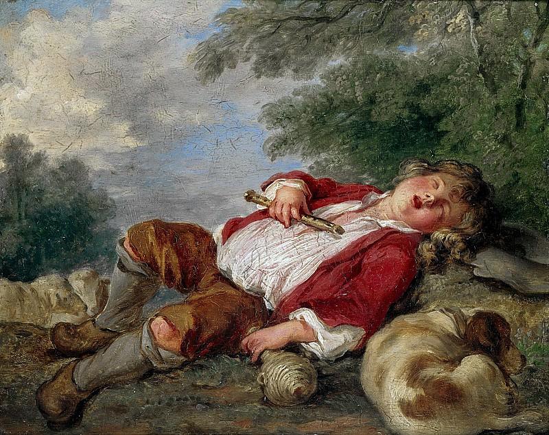 Спящий пастушок. Франсуа Буше