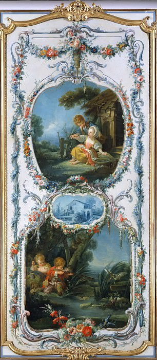 Fishing and Hunting. Francois Boucher