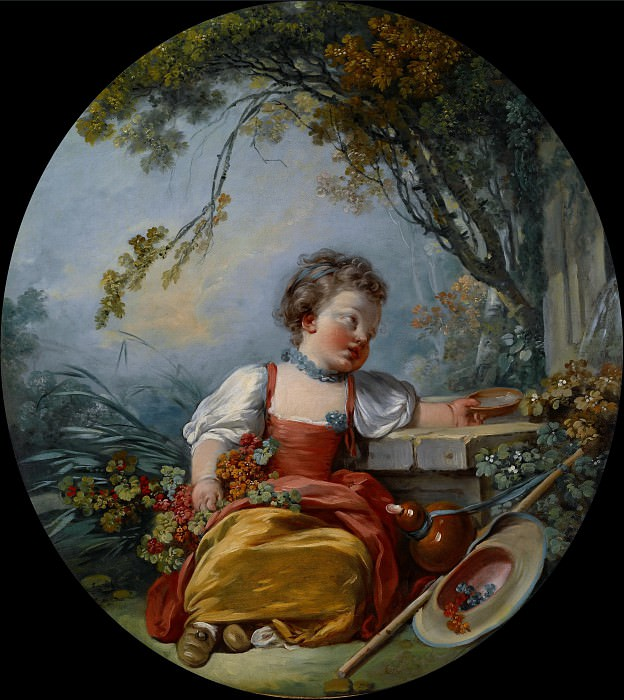 The Little Pilgrim. Francois Boucher