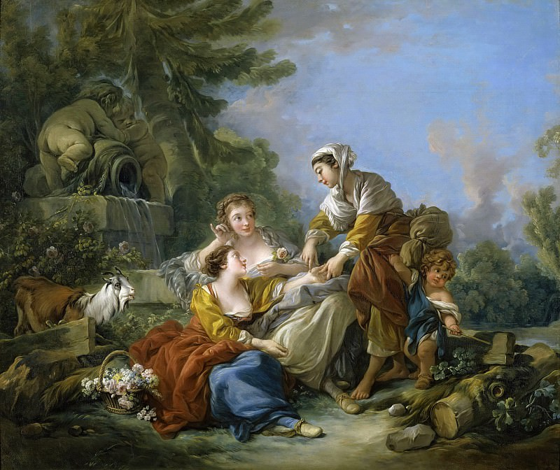 The Fortune Teller. Francois Boucher