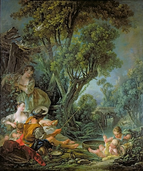 The Anglers. Francois Boucher