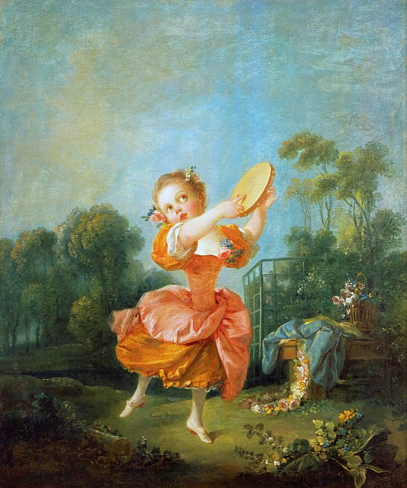Little dancer. Francois Boucher