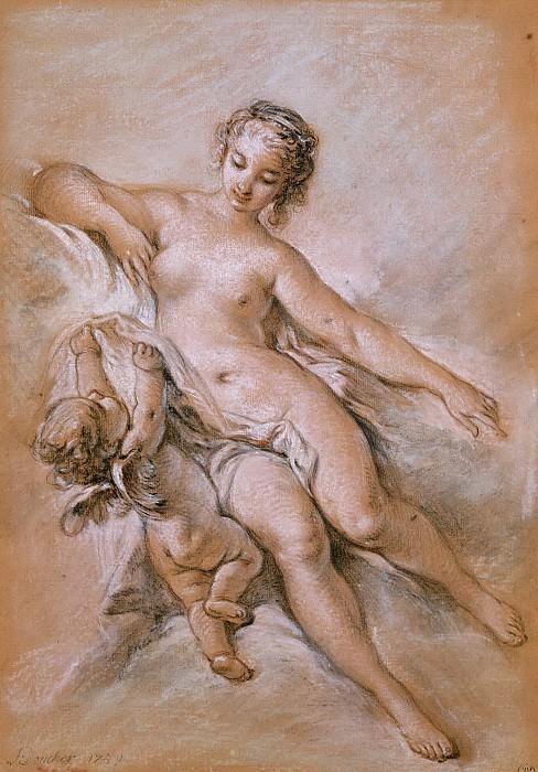 Venus and Cupid. Francois Boucher