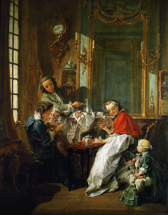 Morning Coffee. Francois Boucher
