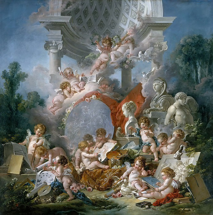 Geniuses of the Arts. Francois Boucher