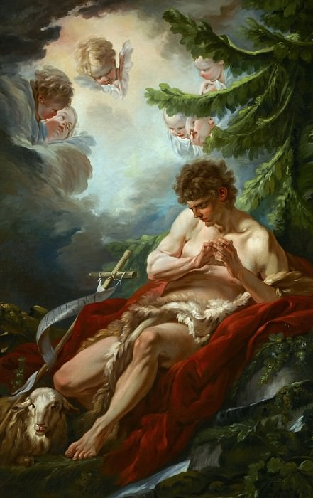 Saint John the Baptist. Francois Boucher