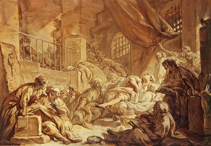 Смерть Сократа. Франсуа Буше