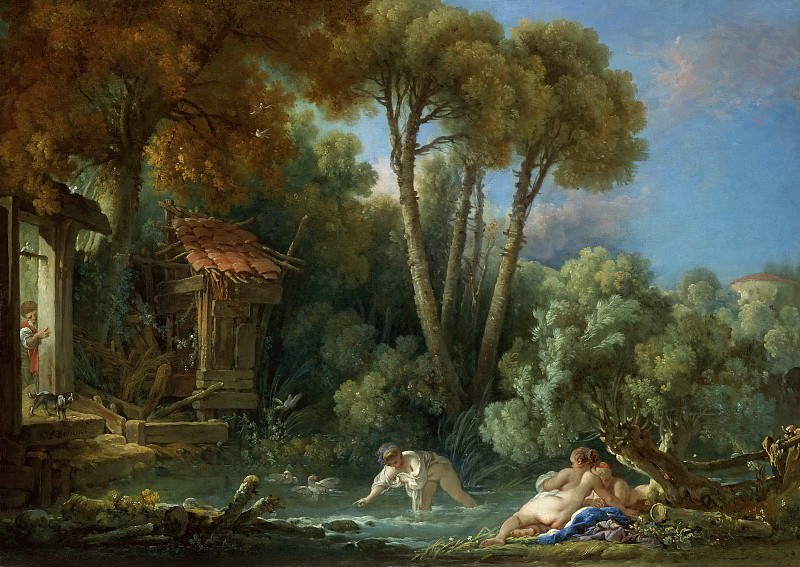The bathers. Francois Boucher