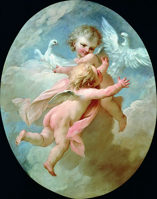 Angels and Doves. Francois Boucher