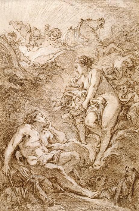 Aurora and Cephalus. Francois Boucher