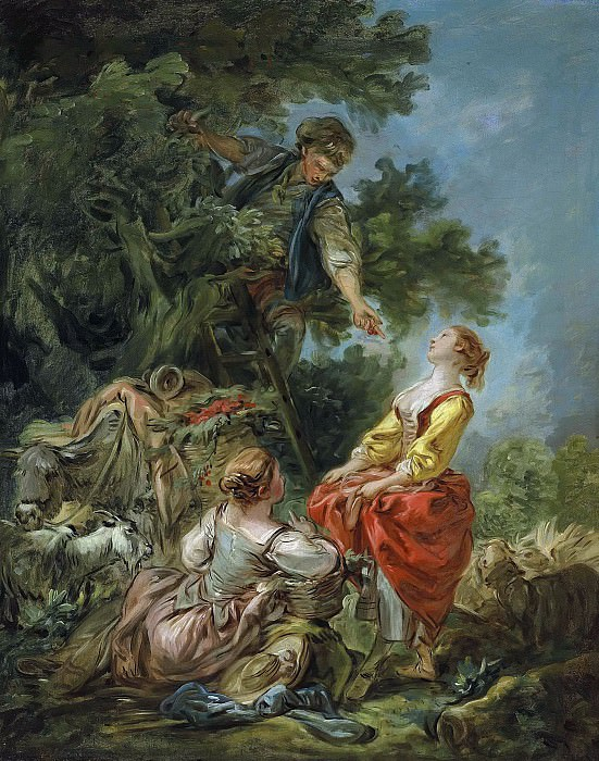 The Cherry Picking. Francois Boucher