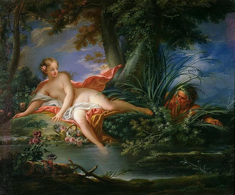 Испуганная купальщица. Франсуа Буше