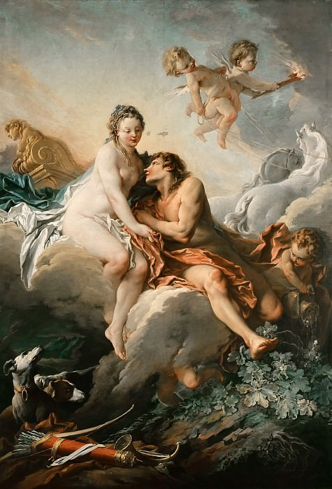 Aurora and Cephalus. Francois Boucher