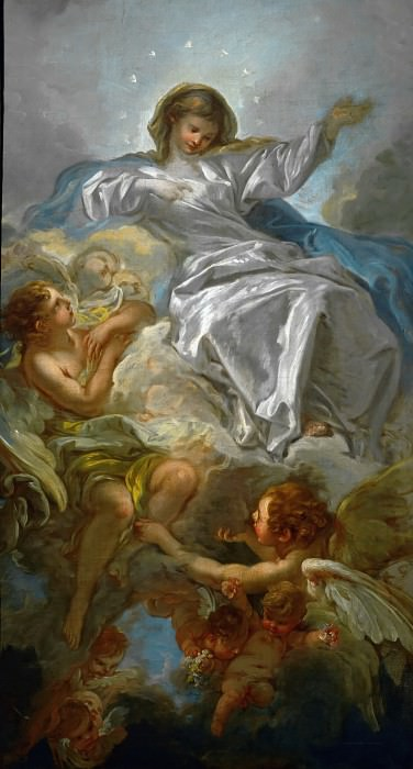 Assumption of the Virgin. Francois Boucher