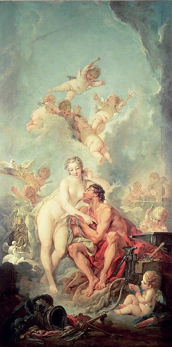 Venus and Mars. Francois Boucher