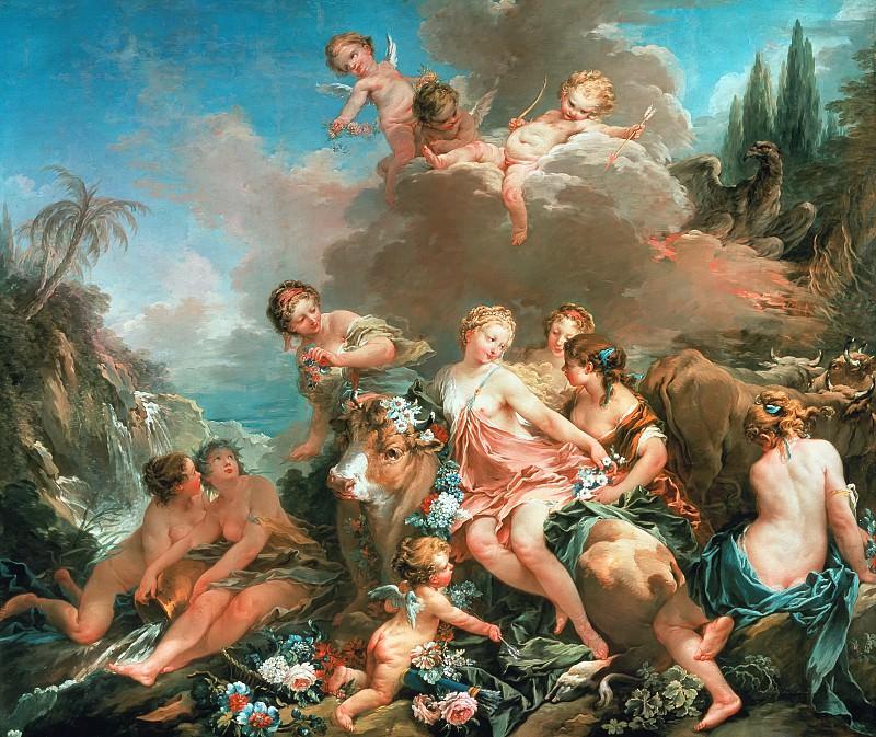 The Rape of Europa. Francois Boucher