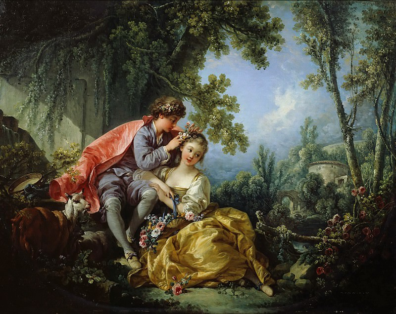 The Four Seasons - Spring. Francois Boucher