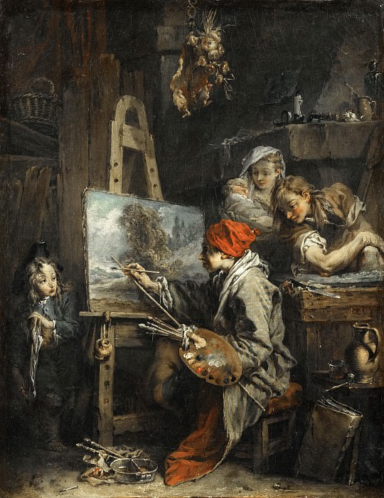 THE LANDSCAPE PAINTER. Francois Boucher