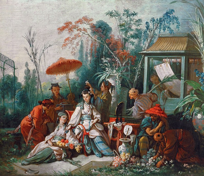 The Chinese Garden. Francois Boucher