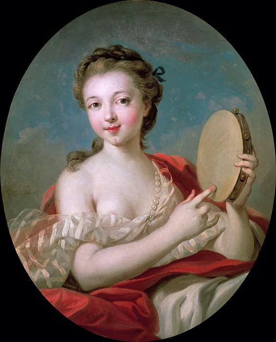 Девушка с тамбурином. Франсуа Буше