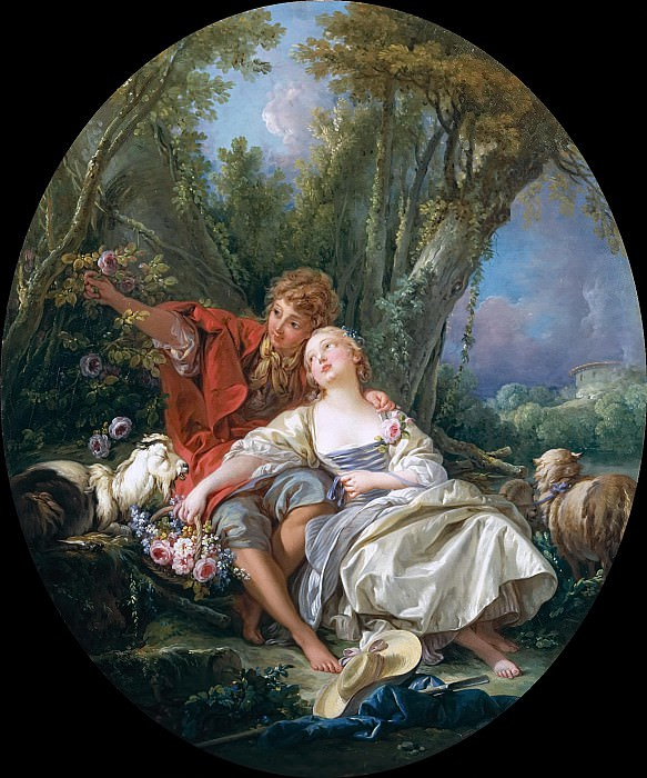 Shepherd and Shepherdess. Francois Boucher