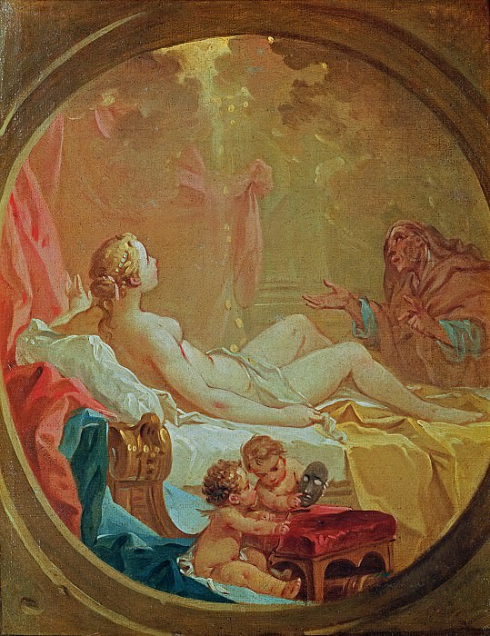 Danae. Francois Boucher