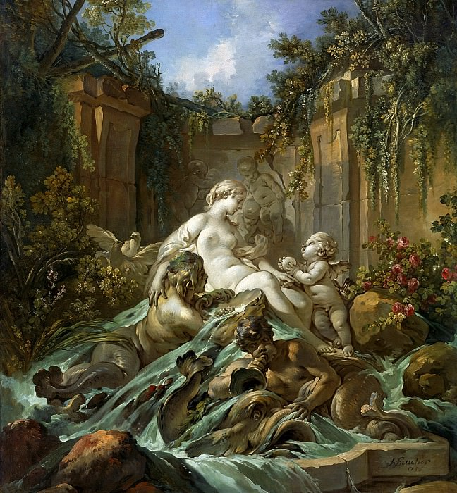 The Fountain of Venus. Francois Boucher