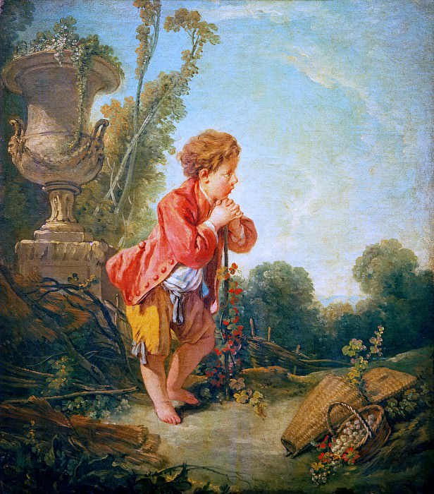 The little wine grower. Francois Boucher