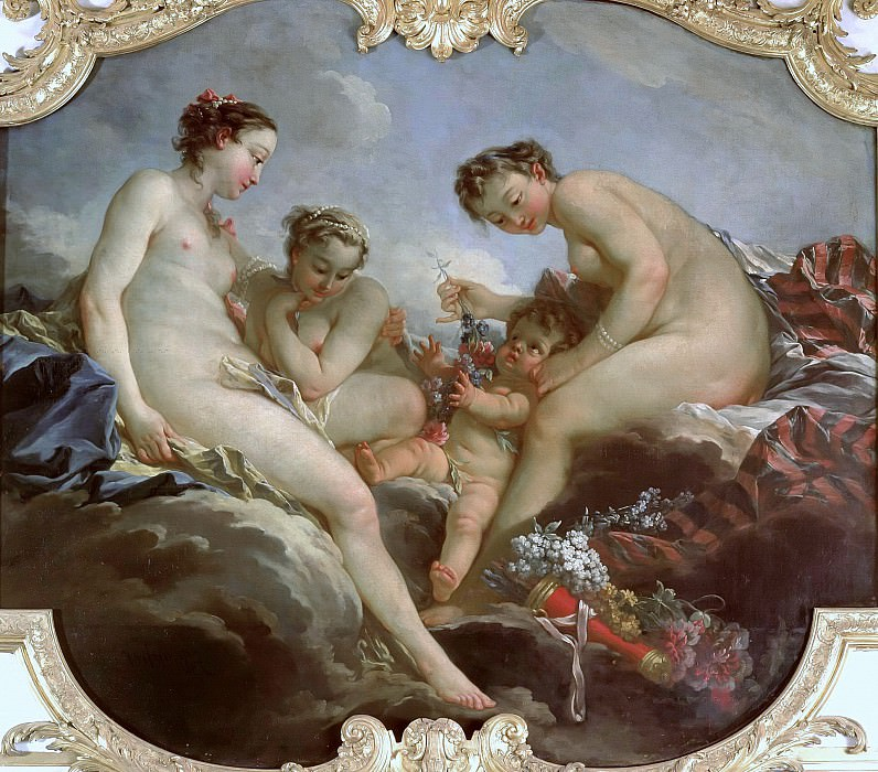 The Three Graces. Francois Boucher