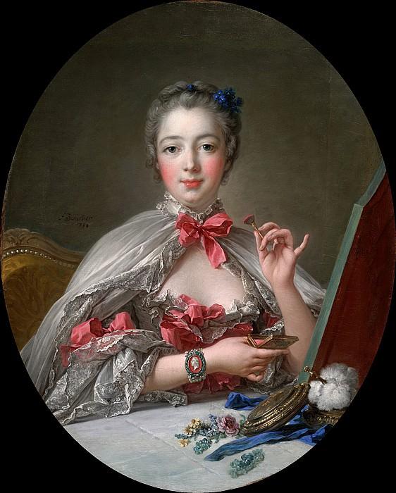 Мадам де Помпадур за туалетом. Франсуа Буше