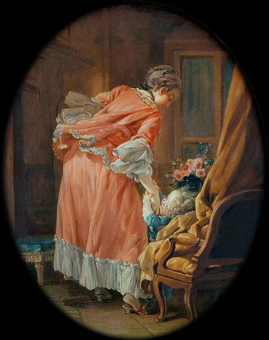 The Spoilt child. Francois Boucher