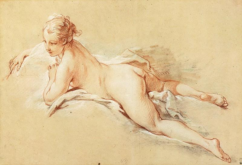 Recumbent Nude. Francois Boucher