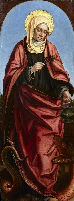 Святая Марта. Бергоньоне (Амброджо да Фоссано)