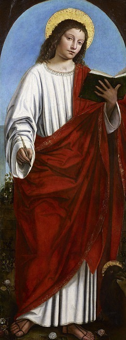 Святой Иоанн Богослов. Бергоньоне (Амброджо да Фоссано)