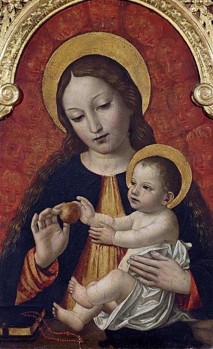 Мадонна с младенцем. Бергоньоне (Амброджо да Фоссано)